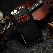 Luxury Leather Wallet Credit Card Back Case Cover For iPhone6/6s/7 /7 Plus