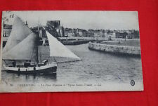CHERBOURG LA PLACE NAPOLEON EGLISE SAINTE TRINITE BATEAU PORT