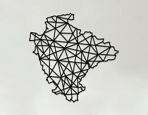 Devon Art - Wooden Laser Cut Wall Art - Geometric Country Art