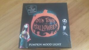 Disney The Nightmare Before Christmas Our Town of Halloween Pumpkin Mood Light
