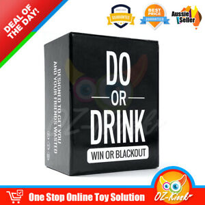 Do or Drink Party Card Drinking Game for Adults Fun & Dirty Party Dare or Shots