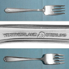 Westmorland Sterling Salad Fork(S) ~ Lady Hilton ~ No Mono