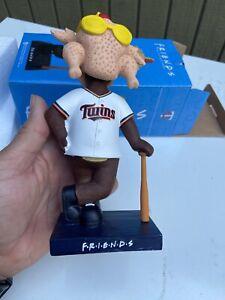 Minnesota Twins Theme Bobblehead 2021 TC Bear Mascot Friends Night Turkey Head