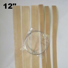 "12"" Round Wire Replacement Impulse Sealer Heat Element Seal & Cut Teflon- 3 Pack"