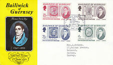 GUERNSEY 2 JUNE 1971 THOMAS DE LA RUE FIRST DAY COVER SHS