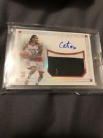 ANTHONY BARBER AUTO JERSEY LOGO PATCH RC /25 2016 PANINI NATIONAL TREASURES SP