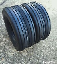 TWO New 13X6.50-6 Deestone Smooth Rib Tires 4 ply Smooth Ribbed FREE SHIPPING!!
