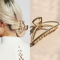 Women New Hair Accessories Metal Modern Stylish Hair Clips Best Claw Hairba O0Y1