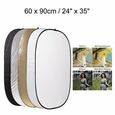 "Godox Studio 5-in-1 Collapsible 60x90cm / 24"" x 35"" Multi Oval Reflector Disc"