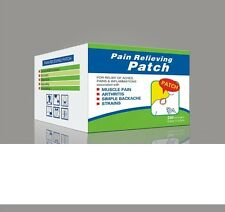 PAIN RELIEVING PATCH FOR PAIN AND INJURIES X 240 PATCHES