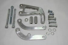 SBC Polished Aluminum Power Steering Bracket LWP Long Water Pump 327 350 383
