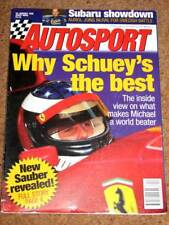 Autosport 25/1/96* SAUBER C15 -KANKKUNEN -FF1600 REVIEW