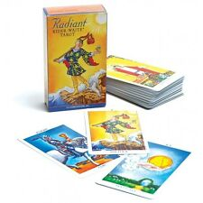 Tarocco RIDER WAITE RADIANT TAROT 78 Carte Mazzo Nuovo Sigillato Ed. U.S. GAMES