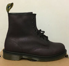 DR. MARTENS 1460 PURPLE CRACKLE SUEDE   LEATHER  BOOTS SIZE UK 9