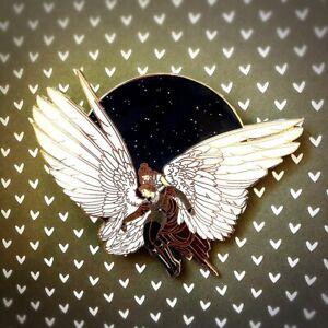 Disney Reylo Wings Fantasy Pin LE 15; Star Wars, Rey, Kylo Ren, Ben
