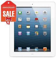 Apple iPad 4th Gen 32GB, Wi-Fi + 4G Cellular (Unlocked), 9.7in - WHITE (R-D)