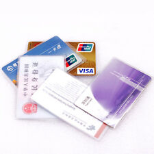 10PCS Clear Plastic Card Sets Credit Card  Case ID Card Holder