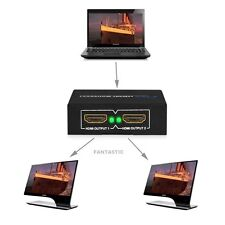 2 Output 1 input SPLITTER HDMI AMPLIFICATORE 2 VIE SWITCH BOX HUB PER PS3 HDTV 1080 p