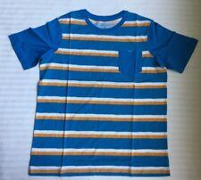 Lands End Big Boy T-Shirt Size: Medium Husky (10H-12 H) New Ship Free Colorblock