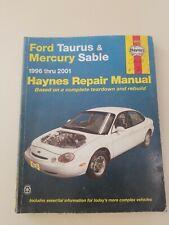 Haynes Repair Manual #36075 for 1996 to 2005 Ford Taurus & Mercury Sable