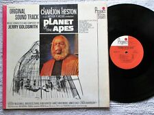 Jerry Goldsmith *Planet Of The Apes* 1968 Nm Vinyl Project 3 Records Lp *Shrink*
