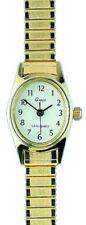 Gardé Ruhla Damenuhr Uhr Oval Goldfarbend Zugarmband Klein 6820