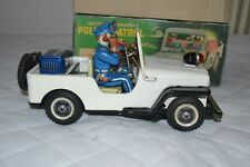 Tin toy Nomura T.N Tin Toys macchina della polizia Patrol made in Japan