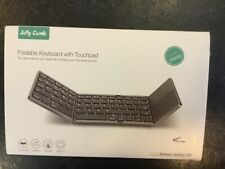 Wireless Foldable KeyBoard with Touchpad.