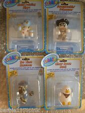 Set of Four Webkinz Figurines By Ganz With Codes and Mint In Package