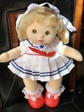 My Child Doll Euro Peach skin Ringlet Pony