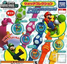 "New Super Mario Brothers U 8"" Watch Takara TOMY Super Acorn"