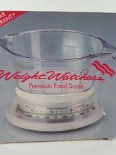 Weight Watchers Premium Food Scale in Original Box Ex Cond 1992