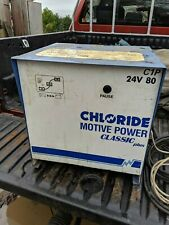 CHLORIDE MOTIVE POWER CLASSIC PLUS FORKLIFT BATTERY CHARGER 24 / 80