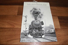 FdE KALENDER 1976 -- Europäischer Eisenbahn-Kalender // mit 52 S/W-Fotos