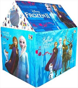 Jumbo Size Extremely Light weight Water Proof Play Kids Tent House (Frozen-2)