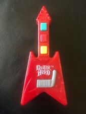 Kellogg's Guitar Hero Toy Mini Red Guitar Bass - 2005-07 Promotion - Air Guitar