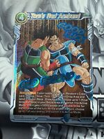 Tora/'s Red Armband TB3-032 Holo Foil Dragon Ball Super Clash of Fates Mint