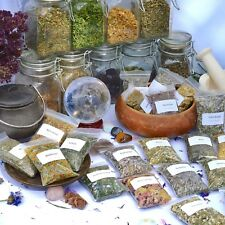 Dried herbs for wicca,witchcraft,spells,magic,incense,crafts A~C (Choice of 200)