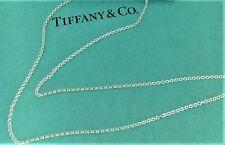 Tiffany & Co. Silver 925 Elsa Peretti Medium Link Chain Necklace 15in