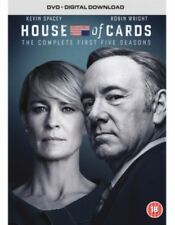 NEW House Of Cards Seasons 1 to 5 DVD