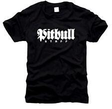 Pit bull Staffordshire perro-caballeros-t-shirt, talla s hasta XXXL