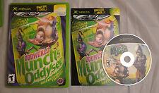Oddworld Munch's Oddysee Microsoft Xbox NTSC Complete CIB Tested Works