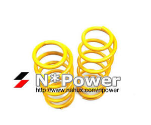 KING COIL SPRING PAIR FRONT FOR NISSAN X-TRAIL XTRAIL T31 2007-2015 30MM RAISED