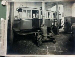 Lotto n. 5 Foto Storiche Napoli Servizio Autobus comunale 1930/40 (P584)