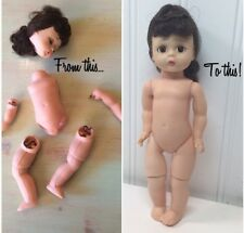 Kit To Restring 6-9 Inch Dolls Repair Fix Restore Doll Ginny Wendy Cissette