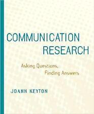 Communication Research by Joann Keyton