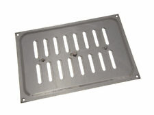 *Bright Chrome Hit And Miss Louvre Vent Ventilation Cover 9 X 6 Inch -Pk qty 12