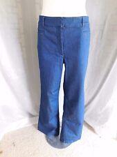NWT Ann Taylor LOFT Medium Dark Wash Stretch Flare Leg Jeans - Size 12