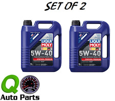 LIQUI MOLY 10-Liters Synthoil Full-Synthetic Motor Oil 5W-40 Premium Germany