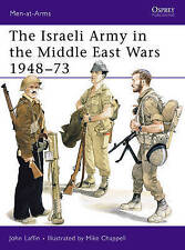 The Israeli Army in the Middle East Wars 1948-73 (Men-at-Arms)-ExLibrary